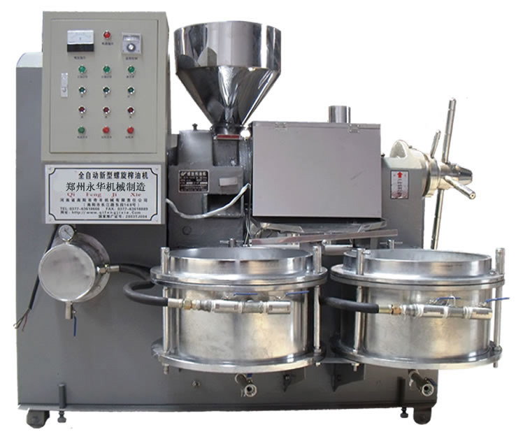 6YL-80型冷热两用多功能螺旋榨油机
